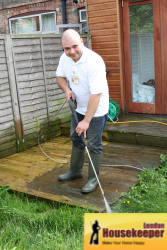 Patio Cleaning London Service